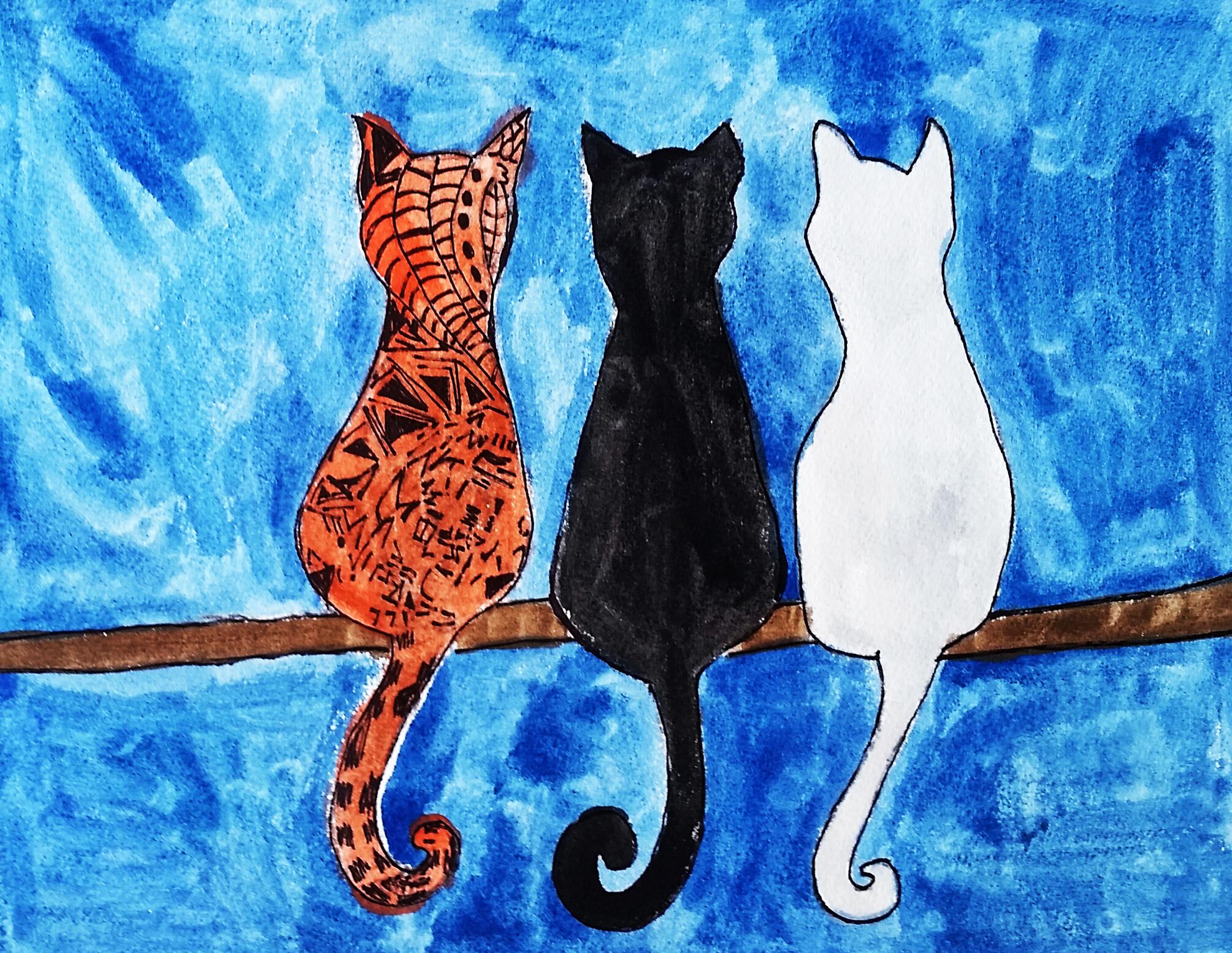 Andrea Frye -The Cat Trio